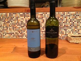 トラットリア リオコルノで飲んだワイン.JPG